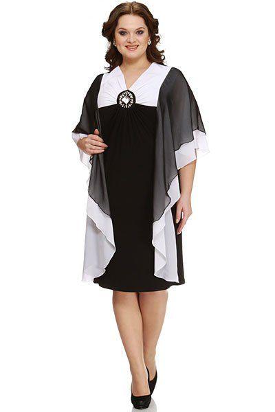 Платье в астане для полных