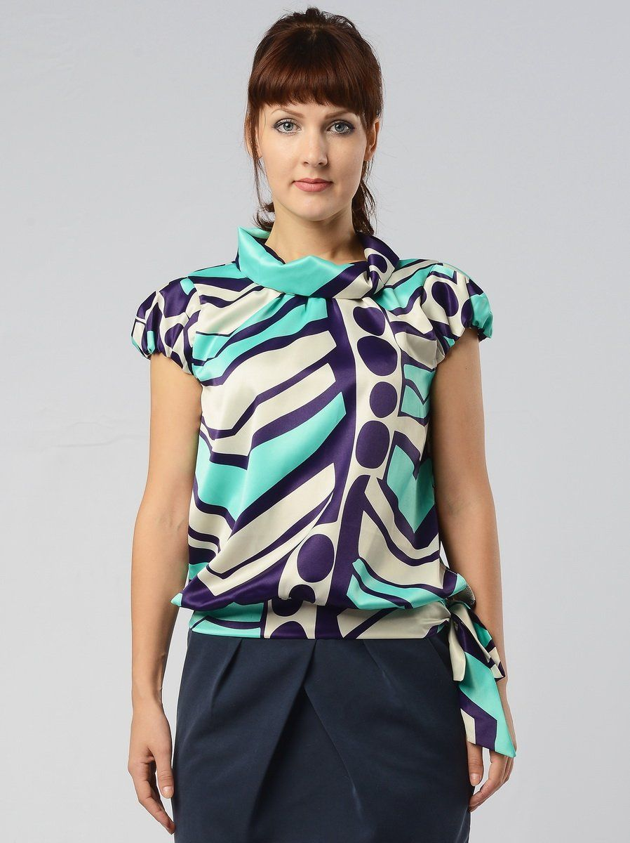 Блузки 46 Размера