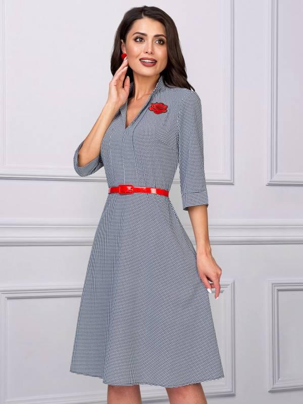 b69cc509cf4a6f7 Деловые офисные платья купить, деловое строгое платье для офиса в Омске.  eModa интернет-магазин одежды в РФ