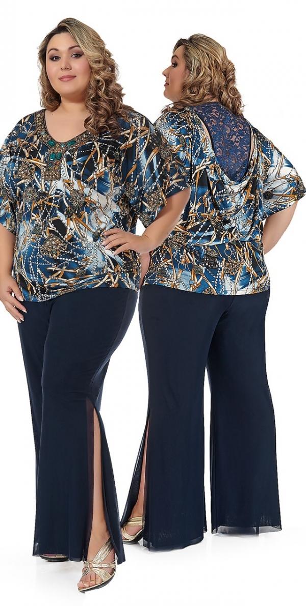 Купить Модную Одежду Для Полных Женщин