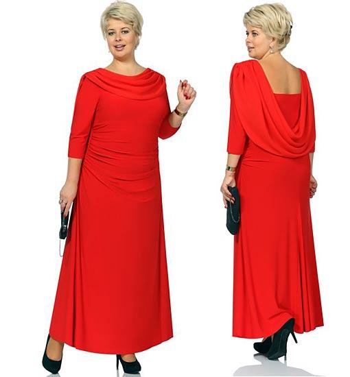 Вечернее платье на 45 лет женщин